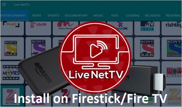 Live NetTV on Firestick Amazon Fire TV