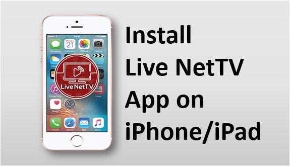Live NetTV iOS App Download on iPhone iPad